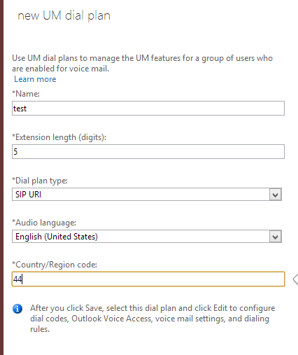 Office 365 Unified Messaging with Lync 2013 On Premise
